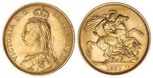 Sterlina d'Oro 1892 Vittoria